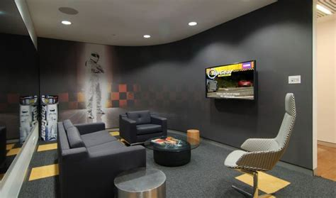 design my office modern breakroom design lose the automotive theme this