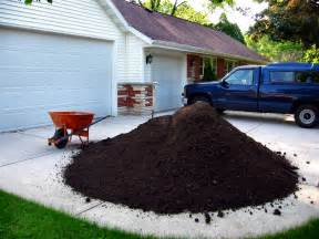 How Much Is A Yard Of Topsoil Soul Photos Of Five 5 Cubic Yards Of Top Soil