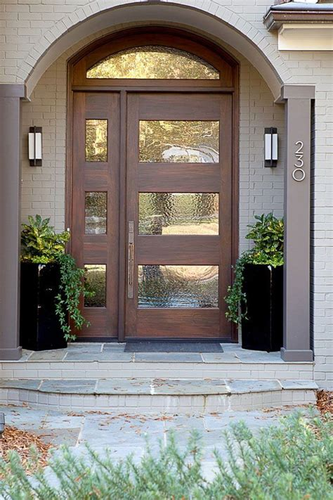 cute contemporary front doors design  contemporary front