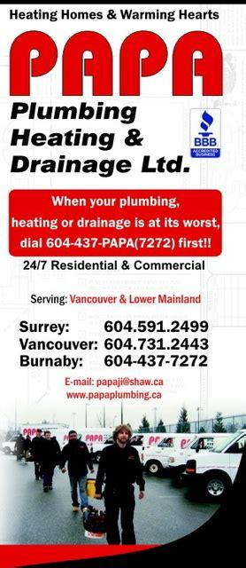 Papa Plumbing by Papa Plumbing In Vancouver Homestars