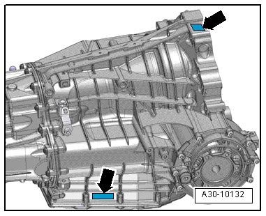 Audi Workshop Manuals > A5 > Power transmission > 7 speed dual clutch gearbox 0B5 (S tronic