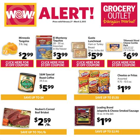 good website for printable grocery coupons grocery outlet ad printable coupons through 3 3