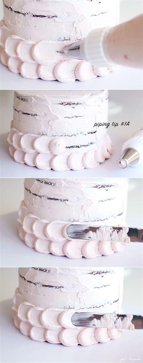 Icing Decorating Tips by Simple And Stunning Cake Decorating Techniques Inspired