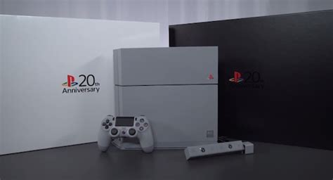 Ps4 20th Anniversary ps4 20th anniversary edition unboxing