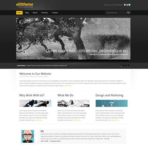 Blackboard Webpage Template Web Blog Corporate Css Templates Dreamtemplate Blackboard Website Templates