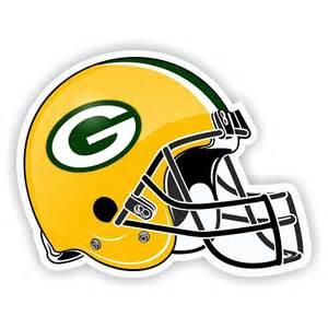 helmet green bay packers helmet die cut decal sticker