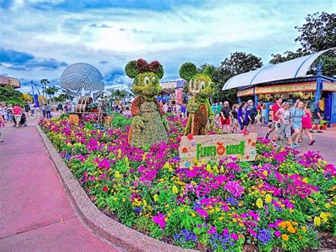 Flower Gardens In Orlando 13 Festivals In Florida You Simply Can T Miss Tripstodiscover