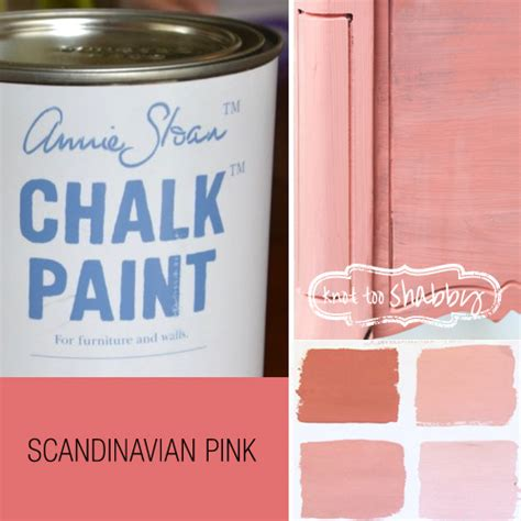 chalk paint pink chalk paint 174 decorative paint by sloan knot