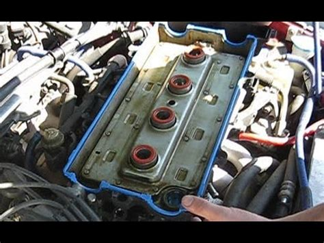2003 acura nsx remove cylinder head how to replace your valve cover gasket youtube