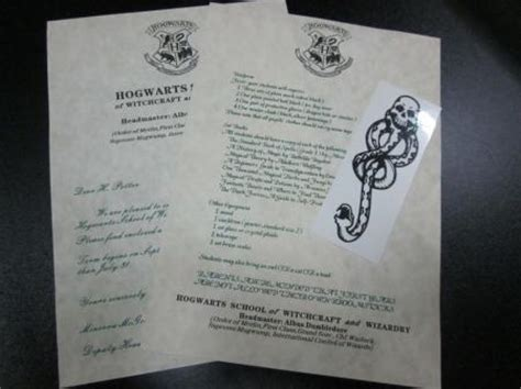 Personalized Harry Potter Acceptance Letter Uk Harry Potter Hogwarts Acceptance Letter Personalized Free And Ticket