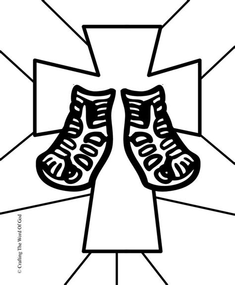 shoes of peace lesson for shoes of gospel of peace coloring page sandals of peace