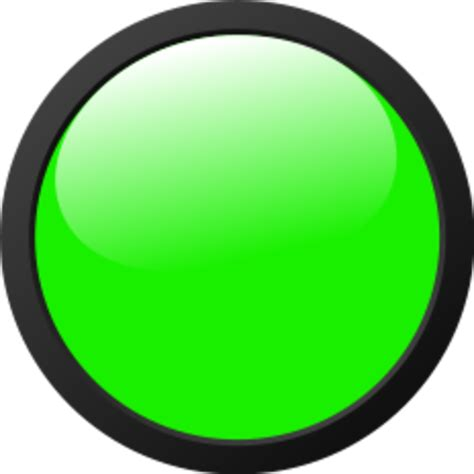 Green Light by Px Green Light Icon Free Images At Clker Vector