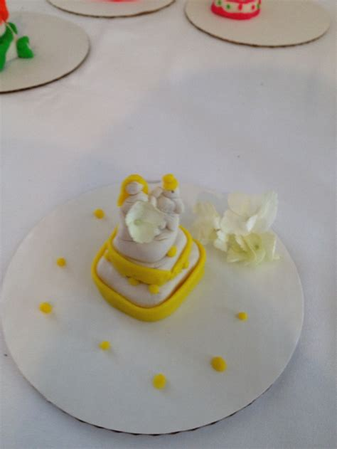 wedding cake shower wedding cake made out of play - Play Doh Bridal Shower