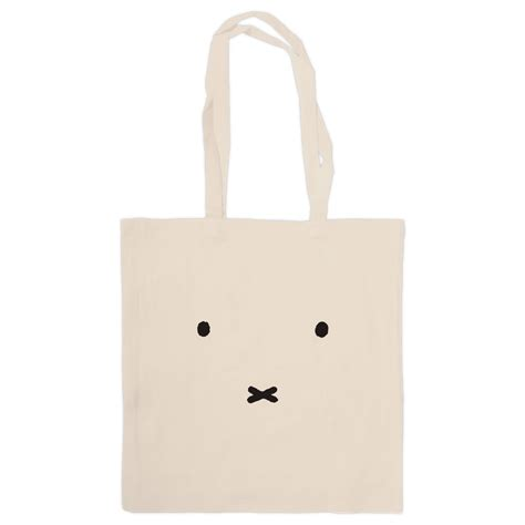 miffy face tote shopper bag