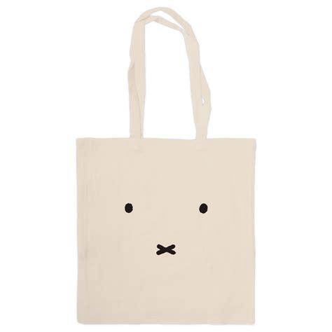 miffy face tote shopper bag