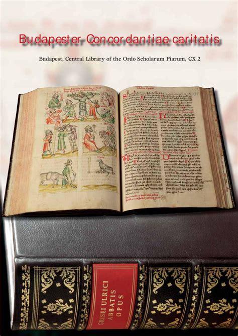in caritatis concordantiae caritatis by accademia d ungheria in roma