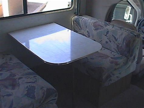 Rv Dining Table Bed Rv Table Bed The Dinette Table Folds For Another