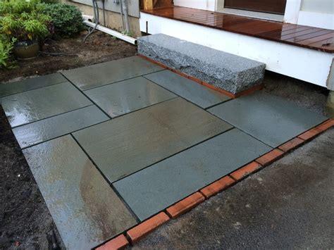 Thermal Bluestone Patio by Bluestone Landing And Granite Step Concord Ma Concord