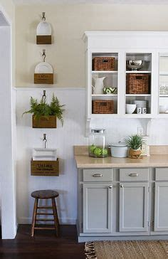 kitchen wall cabinets casual cottage crates on wall on pinterest milk crate shelves antique