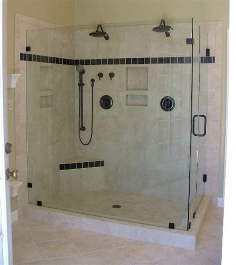 custom frameless shower enclosures and shower doors custom frameless glass shower doors dc sterling fairfax