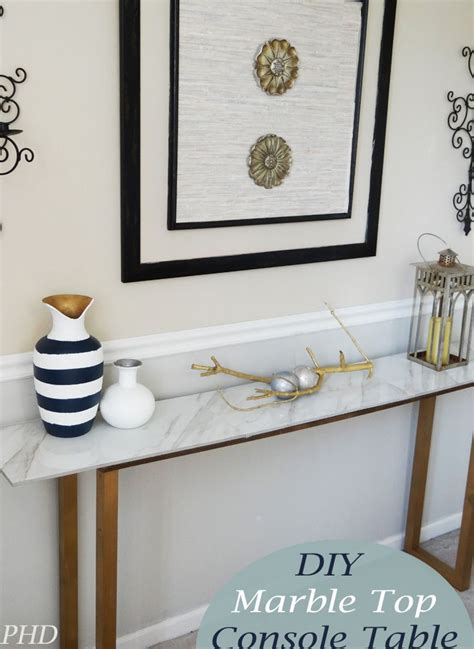 marble top entry 25 best ideas about ikea console on pinterest