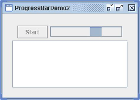 java swing progress bar progressbar 171 swing jfc 171 java