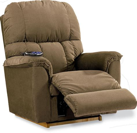 lazy boy imperial recliner la z boy p10572 power imperial recliner walnut