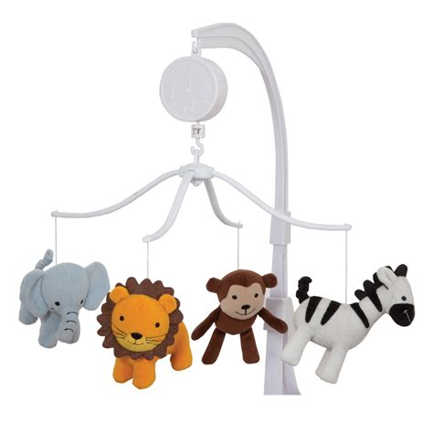 Musical Baby Crib Mobile Jungle Buddies Musical Mobile Lambs