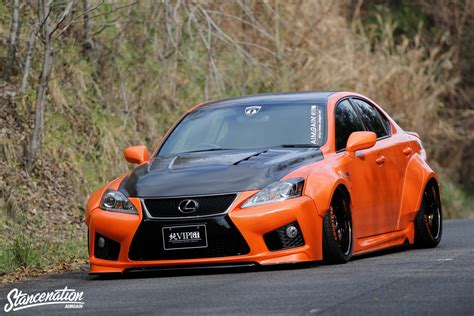 widebody lexus closer look at vip gt is f by aimgain stancenation