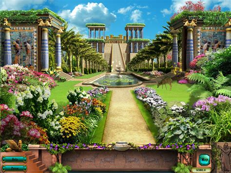 Gardens Of The Ancients - hanging garden of babylon pinner does not all about