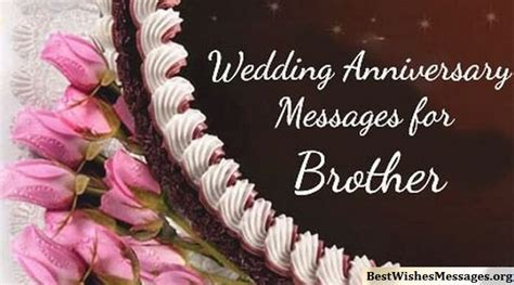 #100 Wedding Anniversary Wishes Messages for Brother