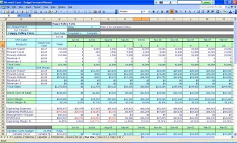 free small business accounting excel templates