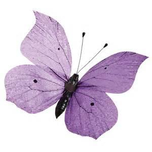 schmetterling dekoration deko deko schmetterling lila 30 cm dekoration bei