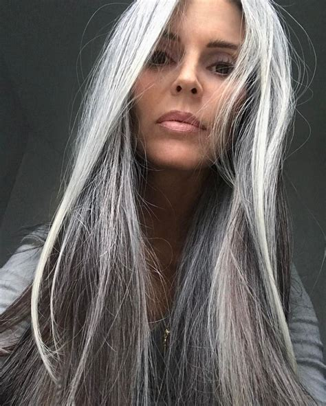 grey hair on ordinary women 1000 images about strands of silver and snow on pinterest