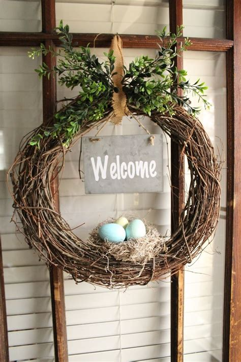 diy spring wreath diy spring wreath diy crafts pinterest