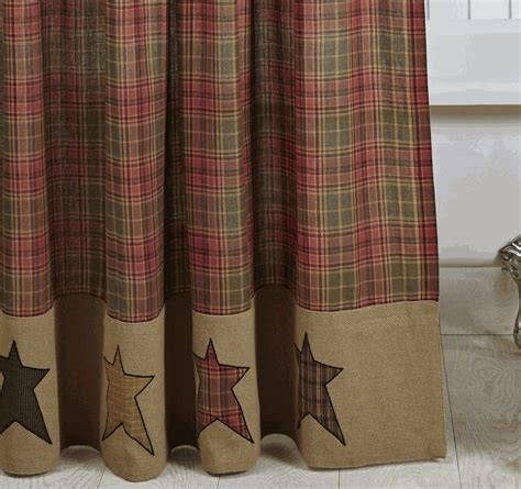 cabin shower curtains rustic star curtains myideasbedroom com