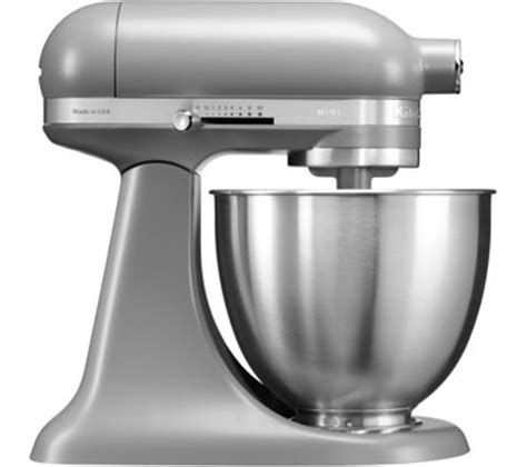 Mixer Mini buy kitchenaid artisan mini 5ksm3311xbfg stand mixer matte grey free delivery currys
