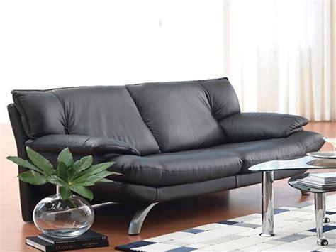 divani pelle nera divano in pelle