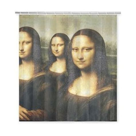 mona lisa shower curtain shop shop baby baby mona lisa shower curtain 66x72