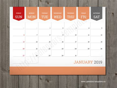 calendar design price monthly calendar 2019 planner wall or table pad planner