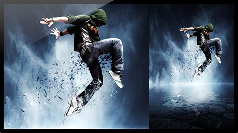 tutorial photoshop dance photoshop photo manipulation break dance youtube