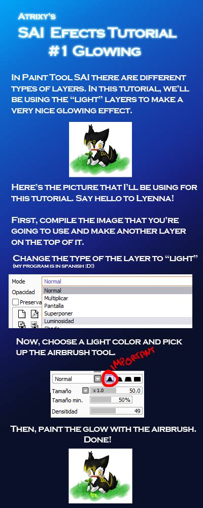 paint tool sai glow effect tutorial sai effects tutorial glow by atrixy on deviantart