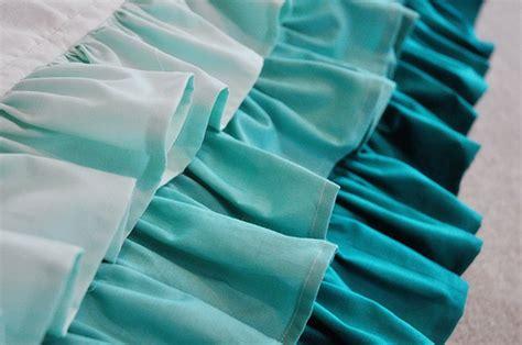 pattern making ruffles emmmylizzzy ruffled waterfall crib skirt