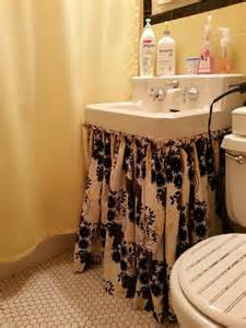 bathroom sink skirts sink skirt for the home
