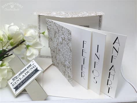 Hochzeitseinladung 3d by Stin Up Stempelherz Hochzeitseinladung Hochzeitskarte