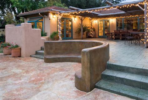 Patio Santa Fe by Santa Fe Style Remodel Rustic Patio San Francisco