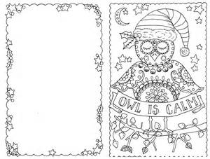 cards to color 4 cards to color owl cards you be the artist color