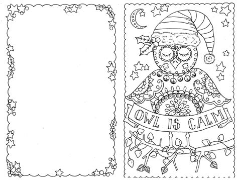 printable christmas cards to color for adults coloring christmas card christmas lights decoration