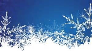 winter vectors illustrations snowflakes blue background