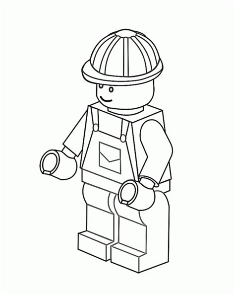 Lego Coloring Pages Free Coloring Page Pinterest Lego Colouring Pages For
